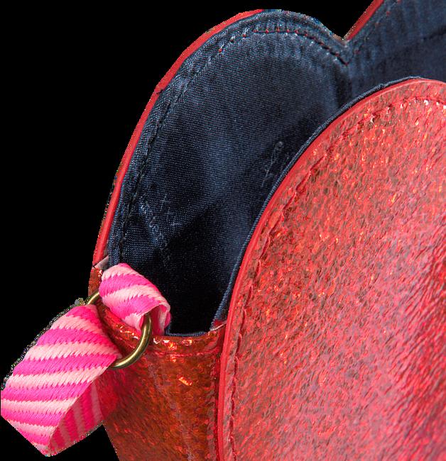 Rote LE BIG Umhängetasche SANDRA BAG  - large