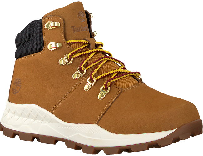 Camelfarbene TIMBERLAND Schnürboots BROOKLYN HIKER  - large