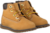 Camelfarbene TIMBERLAND Ankle Boots POKEY PINE 6IN BOOT - small