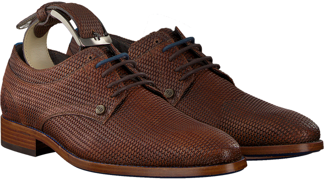 Braune REHAB Business Schuhe BRAD WEAVE - large