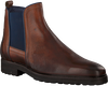 Camelfarbene OMODA Chelsea Boots 36637 - small