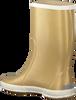 Goldfarbene BERGSTEIN Gummistiefel RAINBOOT - small