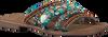 Blaue LAZAMANI Pantolette 75.704  - small