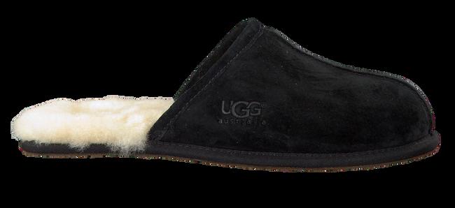 Schwarze UGG Hausschuhe SCUFF - large