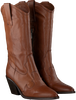 Cognacfarbene NOTRE-V Hohe Stiefel AG444  - small