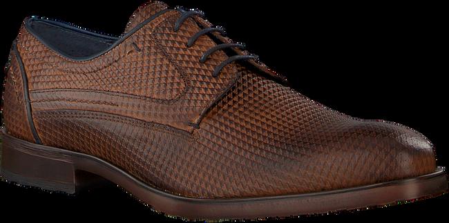 Cognacfarbene OMODA Business Schuhe 735-A - large