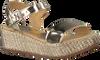 Goldfarbene UNISA Sandalen TERETE - small