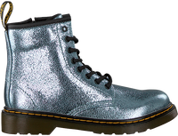 Silberne DR MARTENS Ankle Boots 1460 K CRINKLE  - medium