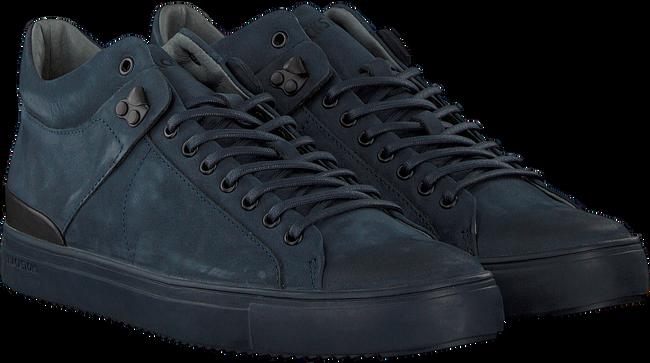 Blaue BLACKSTONE Sneaker QM87 - large
