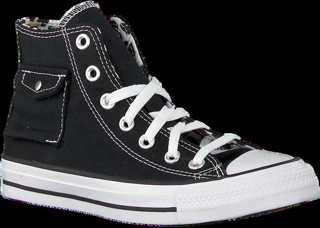Schwarze CONVERSE Sneaker high CHUCK TAYLOR AS POCKET HI - large