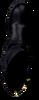 Schwarze HIP Langschaftstiefel H1263 - small
