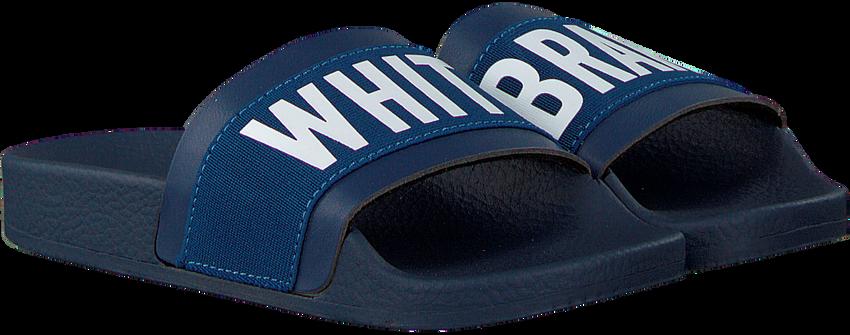 Blaue THE WHITE BRAND Pantolette ELASTIC MINIMAL KIDS - larger