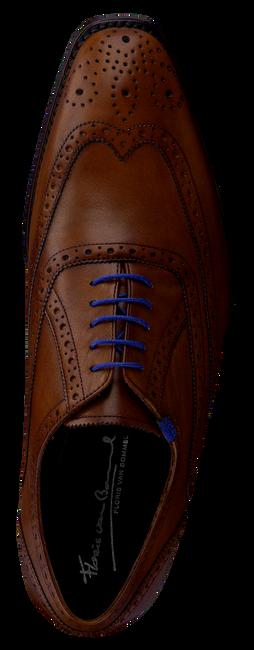 Cognacfarbene FLORIS VAN BOMMEL Business Schuhe 19470 - large