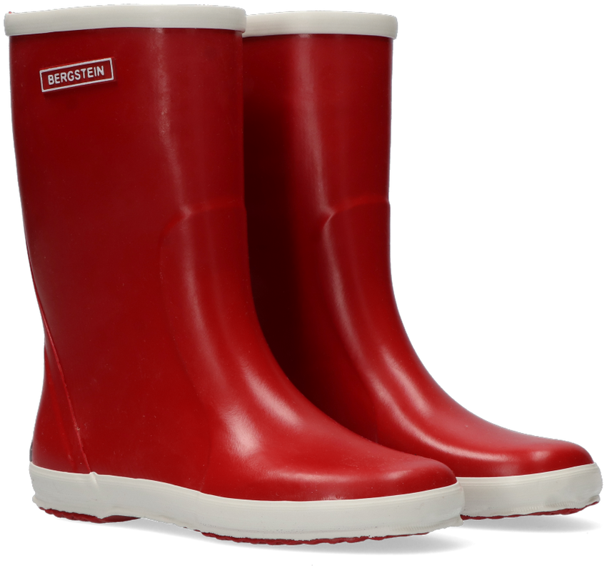 Rote BERGSTEIN Gummistiefel RAINBOOT - larger