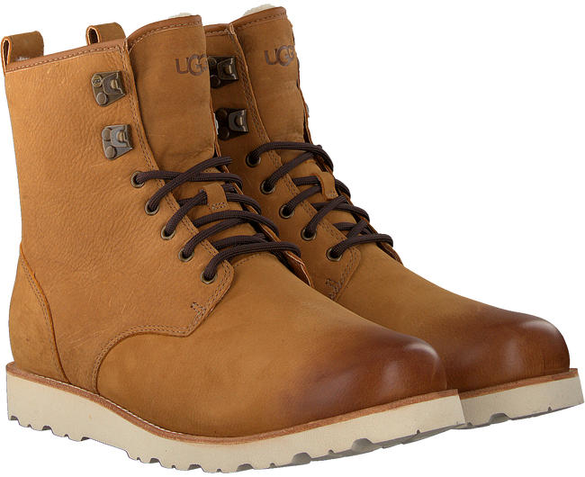 Camelfarbene UGG Ankle Boots HANNEN TL - large