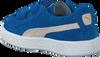 Blaue PUMA Sneaker SUEDE 2 STRAPS - small