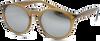 Braune IKKI Sonnenbrille LEXI - small