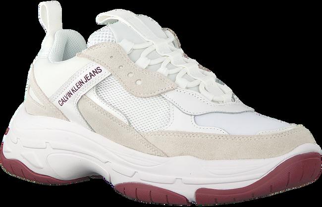 Weiße CALVIN KLEIN Sneaker low MARVIN  - large