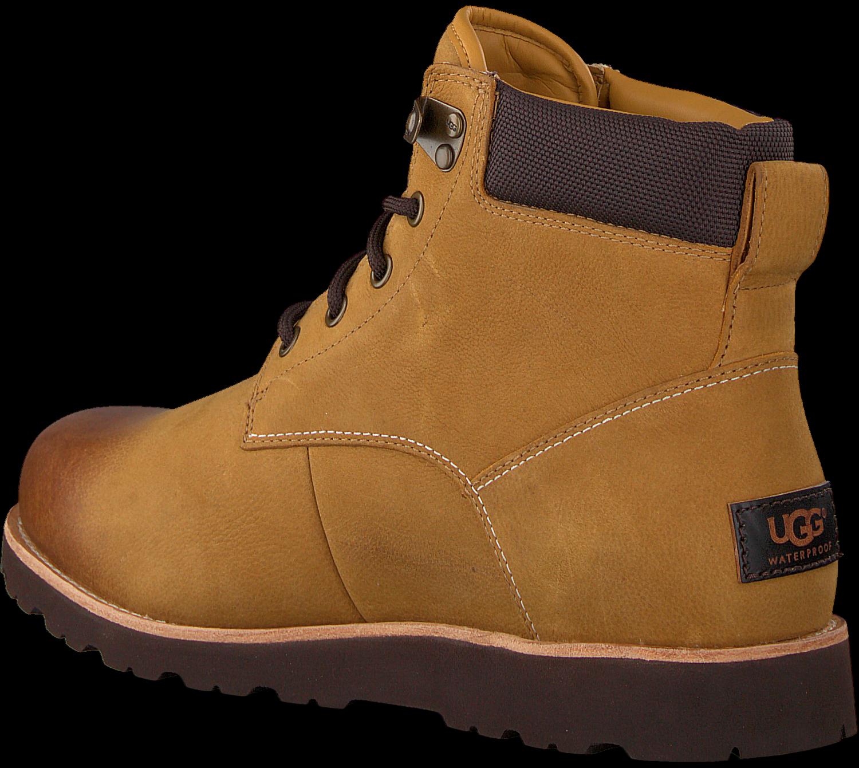 Camelfarbene UGG Ankle Boots SETON Omoda