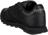 Schwarze REEBOK Sneaker CLASSIC LEATHER KIDS - small