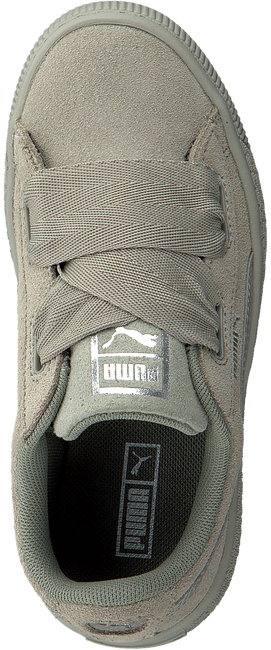 Graue PUMA Sneaker SUEDE HEART SNK PS - large