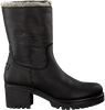 Schwarze PANAMA JACK Ankle Boots PIOLA B35  - small