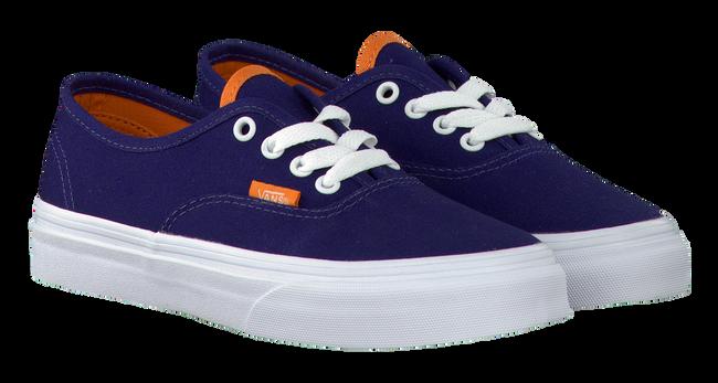 Blaue VANS Sneaker K AUTHENTIC - large