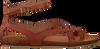 Cognacfarbene RED RAG Sandalen 79128 - small