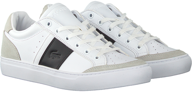 Weiße LACOSTE Sneaker low COURTLINE 319 1  - large