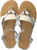 Silberne TOMS Sandalen LEXIE - small