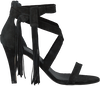 Schwarze TORAL Sandalen 10606 - small