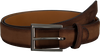 Cognacfarbene MAGNANNI Gürtel 1104 - small