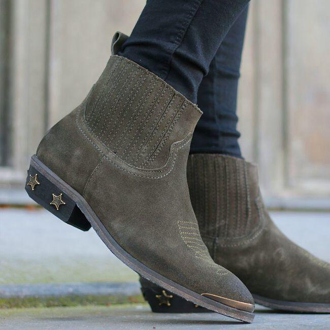 Graue CATARINA MARTINS Chelsea Boots DANIE STAR - large