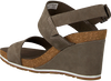 Grüne TIMBERLAND Sandalen CAPRI SUNSET WEDGE - small
