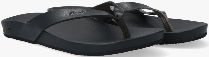 Schwarze REEF Pantolette CUSHION BOUNCE  - larger