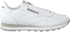 Weiße REEBOK Sneaker CL LTHR MEN  - small