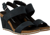 Schwarze TIMBERLAND Sandalen CAPRI SUNSET WEDGE - small