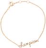 Goldfarbene ALLTHELUCKINTHEWORLD Armband URBAN BRACELET CHAMPION - small