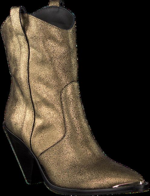Goldfarbene TORAL Cowboystiefel 12031  - large