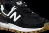 Schwarze NEW BALANCE Sneaker GS574 - small