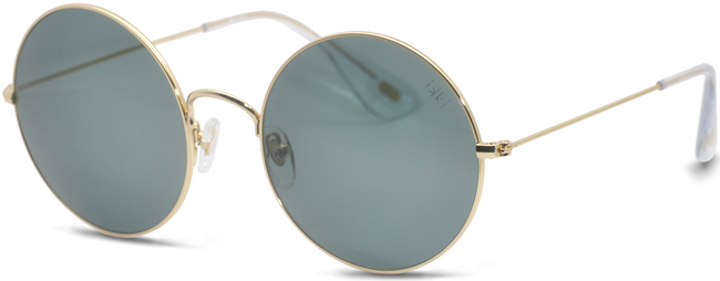 Goldfarbene IKKI Sonnenbrille DUFOUR - large