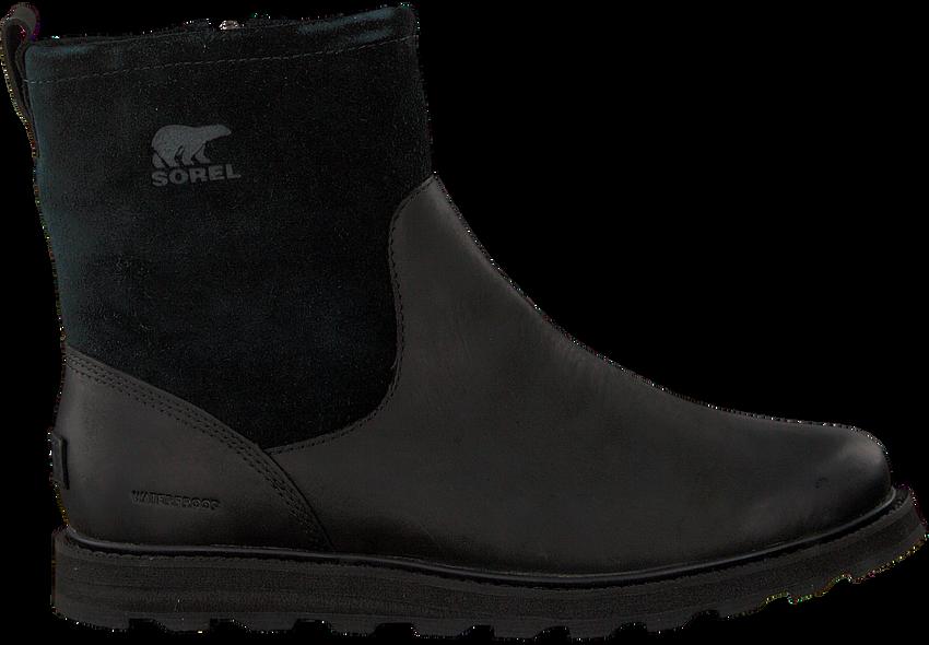 Schwarze SOREL Ankle Boots MADSON ZIP WP - larger