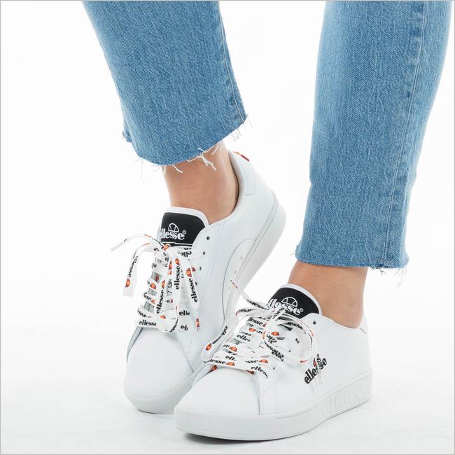 Weiße ELLESSE Sneaker CAMPO EMB LTHR AF - large