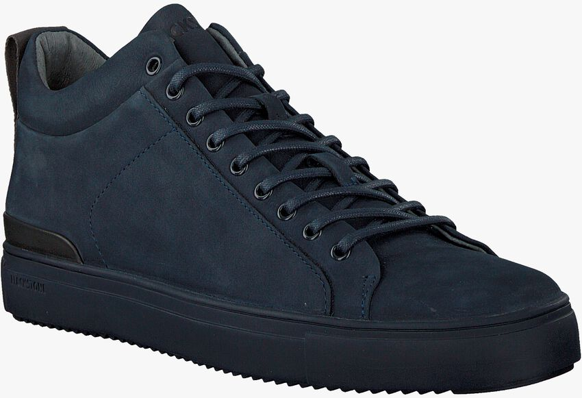 Blaue BLACKSTONE Sneaker SG19  - larger