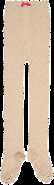 Goldfarbene LE BIG Socken SPARKLE/CIARA TIGHT - large