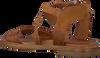 Cognacfarbene OMODA Sandalen M05059  - small