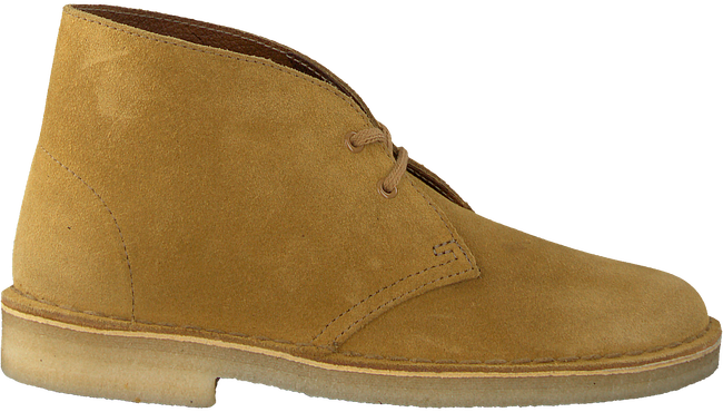 Gelbe CLARKS Ankle Boots DESERT BOOT DAMES - large