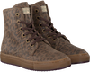 Taupe BANA&CO Schnürboots 72760 - small