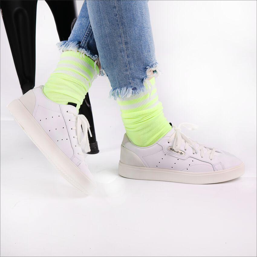 Weiße ADIDAS Sneaker SLEEK W  - larger