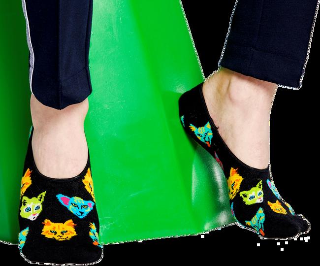 Schwarze HAPPY SOCKS Socken LINER  - large